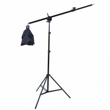 21735 Light Stand with 1.4m Boom Arm And Empty Sandbag