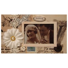 18146 Vintage Wedding Photo Album