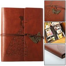 38142 Vintage Self Adhesive Leather Photo Album