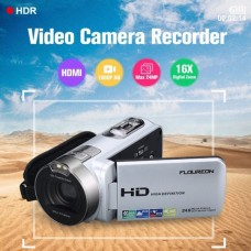 Floureon 24MP Digital Camcorder DV Full HD 1080P 16x Zoom