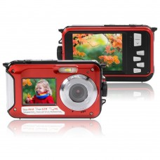 24MP WATERPROOF DOUBLE SCREEN DIGITAL VIDEO CAMERA
