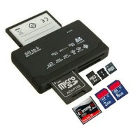 33123 MEMORY CARD READER ADAPTER FOR MICRO SD SDHC MINI M2 MMC XD CF SDXC MS