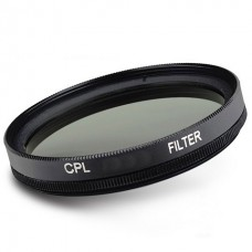 30-82mm Circular Polarizing Slim Frame Glass Filter Cpl Filter