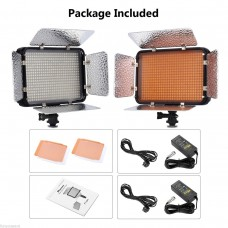 504 2 x LED Photo Studio Video Light Panel