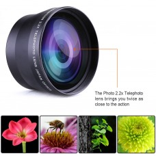 2.2x 72mm Telephoto Zoom Lens
