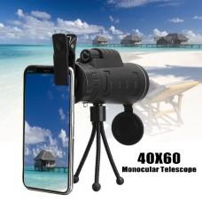 HD Optical 40x60 Zoom Monocular Binoculars Telescope