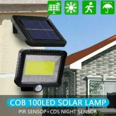 100 LED Solar Power Outdoor Garden Lamp
