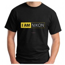 T-shirt 3D Camera Black I am Nikon Print