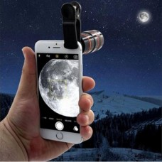 HD360 8X Zoom Clip-on Telescope Lens For Smart Phone
