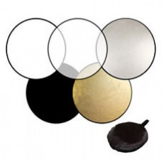 01. 5-in-1 Collapsible Reflector Disc Choose you size