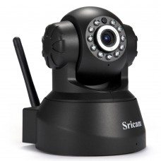 HD 720P Wireless WiFi IP Camera Network PT CCTV Night Vision